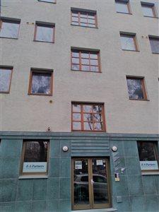 Vchod budovy